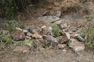 The Water Project: Mbiuni Community -  Rocks Gathered For Construction