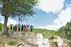 The Water Project: Mbiuni Community -  Celebrating The Complete Sand Dam