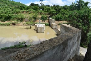 The Water Project: Mbiuni Community -  Dam And Well