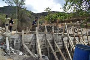 The Water Project: Mbiuni Community -  Dam Construction
