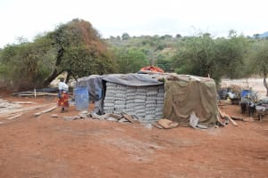 The Water Project: Mukuku Community A -  Cement