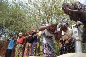 The Water Project: Mukuku Community A -  Water