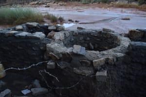 The Water Project: Mukuku Community A -  Well Progress