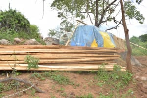 The Water Project: Kathuli Community A -  Construction Materials