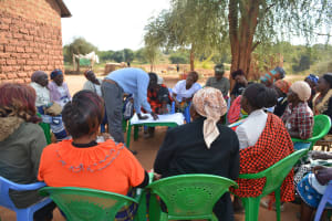 The Water Project: Kathuli Community A -  Sanitation And Hygiene Training