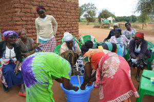 The Water Project: Kathuli Community A -  Soapmaking