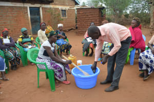 The Water Project: Kathuli Community A -  Soapmaking Demonstration