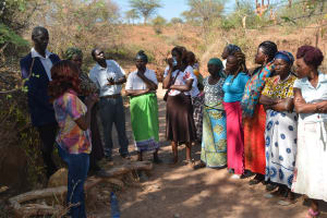 The Water Project: Kathuli Community A -  Training Discussion