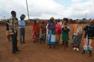 The Water Project: Kathuli Community A -  Training Discussions