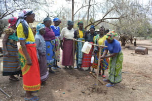 The Water Project: Tulimani Community A -  Handwashing