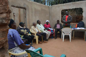 The Water Project: Kala Community C -  Training Discussion