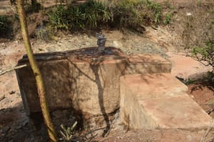 The Water Project: Kala Community C -  Well Construction