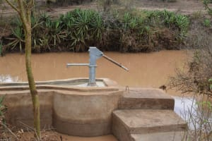 The Water Project: Kala Community C -  Well