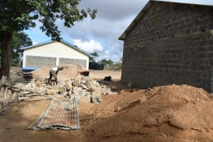 The Water Project: Kiundwani Secondary School -  Construction Site