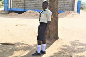 The Water Project: Kiundwani Secondary School -  Hellen Mwikali