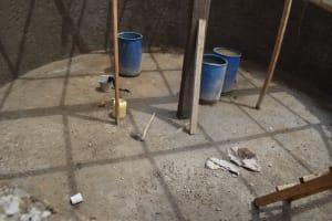 The Water Project: Kiundwani Secondary School -  Inside Tank