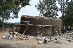 The Water Project: Kiundwani Secondary School -  Tank Nears Completion