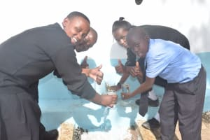 The Water Project: Kiundwani Secondary School -  Thumbs Up