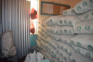 The Water Project: Katalwa Secondary School -  Bags Of Cement