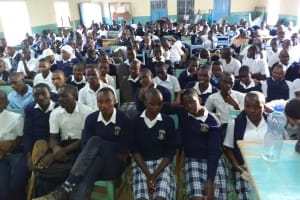 The Water Project: Katalwa Secondary School -  Students At The Training