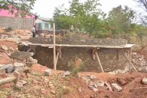The Water Project: Katalwa Secondary School -  Tank Construction