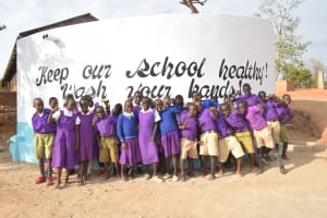 The Water Project: Kwa Kyelu Primary School -  Celebrating At The Tank