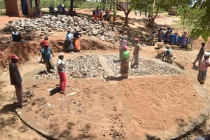 The Water Project: Kwa Kyelu Primary School -  Construction Phase One