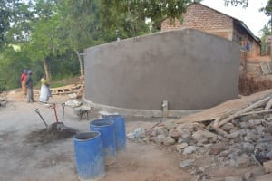 The Water Project: Kwa Kyelu Primary School -  Construction Phase Three