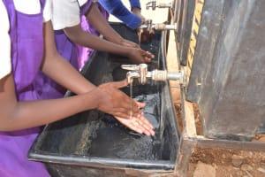 The Water Project: Kwa Kyelu Primary School -  Handwashing