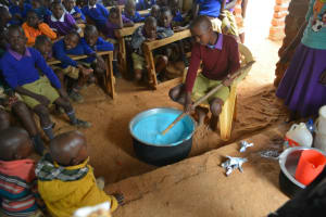 The Water Project: Kwa Kyelu Primary School -  Mixing Soap