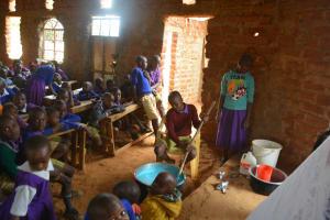 The Water Project: Kwa Kyelu Primary School -  Soapmaking