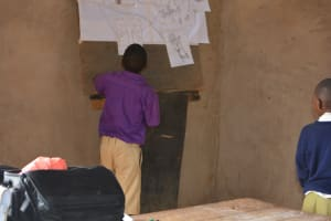 The Water Project: Kwa Kyelu Primary School -  Student Participates In The Training
