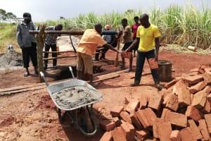 The Water Project: Nyakasenyi Byebega Community -  Construction