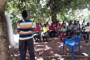 The Water Project: Nyakasenyi Byebega Community -  Leading The Training