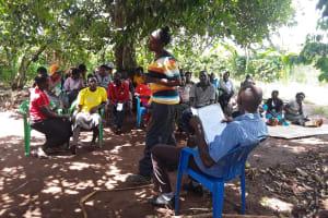 The Water Project: Nyakasenyi Byebega Community -  Training Session