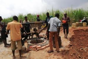 The Water Project: Nyakasenyi Byebega Community -  Yield Test