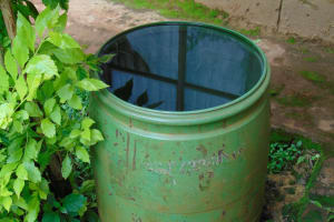 The Water Project: Gamalenga Primary School -  A Home Water Source