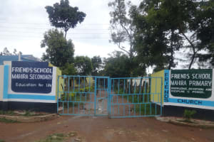 The Water Project: Friends School Mahira Primary -  School Gate