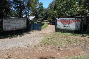 The Water Project: Friends School Shivanga Secondary -  School Gate