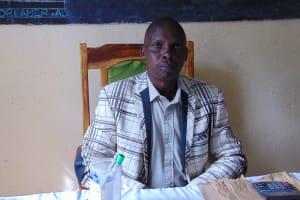 The Water Project: Boyani Primary School -  Head Teacher Mr Samoei Kibet