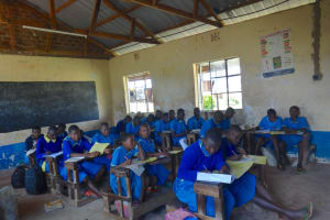 The Water Project: St. Michael Mukongolo Primary School -  Students In Class