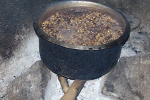 The Water Project: St. Kizito Kimarani Primary School -  Food Being Prepared In The Kitchen