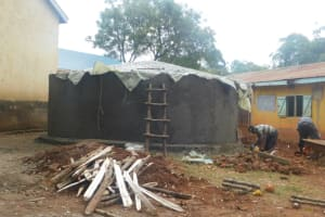 The Water Project: Friends School Mutaho Primary -  Dome Work