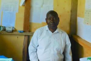 The Water Project: Friends School Vashele Secondary -  Deputy Principal Mr Jotham Wanjala