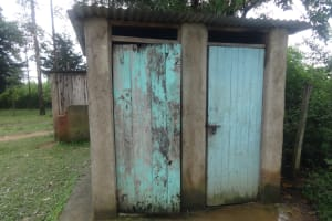 The Water Project: Friends School Mahira Primary -  Latrines