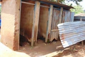 The Water Project: Gidimo Primary School -  Kenya Boys Latrines