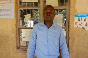 The Water Project: Givudemesi Primary School -  Deputy Head Teacher Mr Nathan Muchela