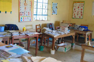 The Water Project: St. Kizito Kimarani Primary School -  Staffroom While Classes Are In Session