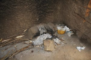 The Water Project: Mukoko Baptist Primary School -  Cook Stove Inside Kitchen