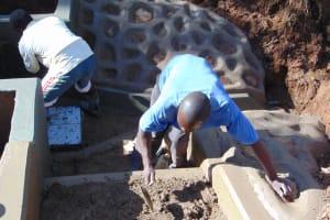 The Water Project: Ebutindi Community, Tondolo Spring -  Stair Construction
